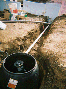 Wastewater removal